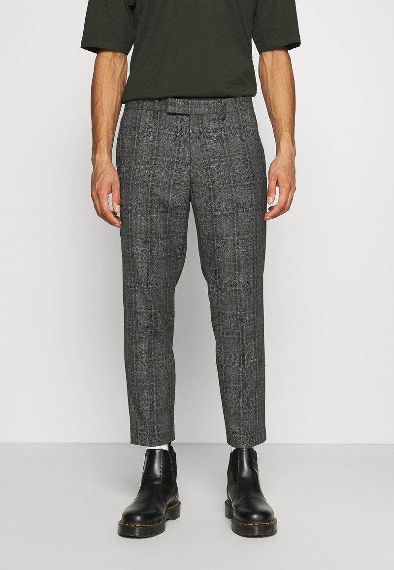 AllSaints - BENNETT TROUSER - Trousers - grey marl