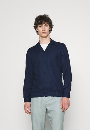 BLOUSON SHIRT - Shirt - navy blue