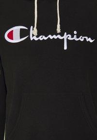 Champion Reverse Weave - HOODED - Mikina skapucí - black - 2