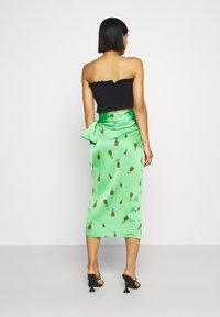 Never Fully Dressed - SUMMER RAINBOW JASPRE - Wrap skirt - green - 2