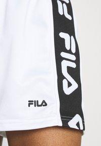 Fila - FIONA HIGH WAIST - Shorts - bright white - 3