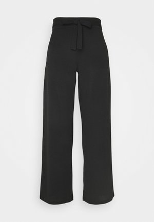 JDYCURLEY CATIA WIDE PANT - Trousers - black