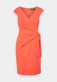 Lauren Ralph Lauren - LUXE TECH CREPE DRESS - Cocktail dress / Party dress - regal coral - 0