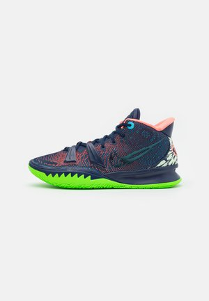 KYRIE 7 - Chaussures de basket - midnight navy/lagoon pulse