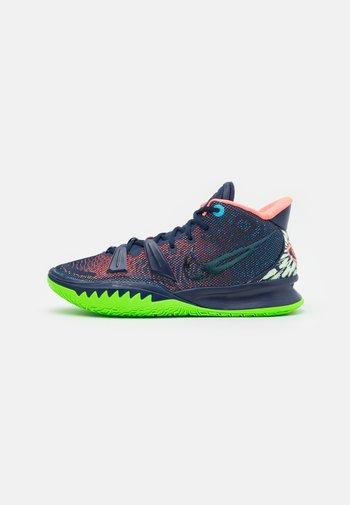 KYRIE 7 - Basketball shoes - midnight navy/lagoon pulse