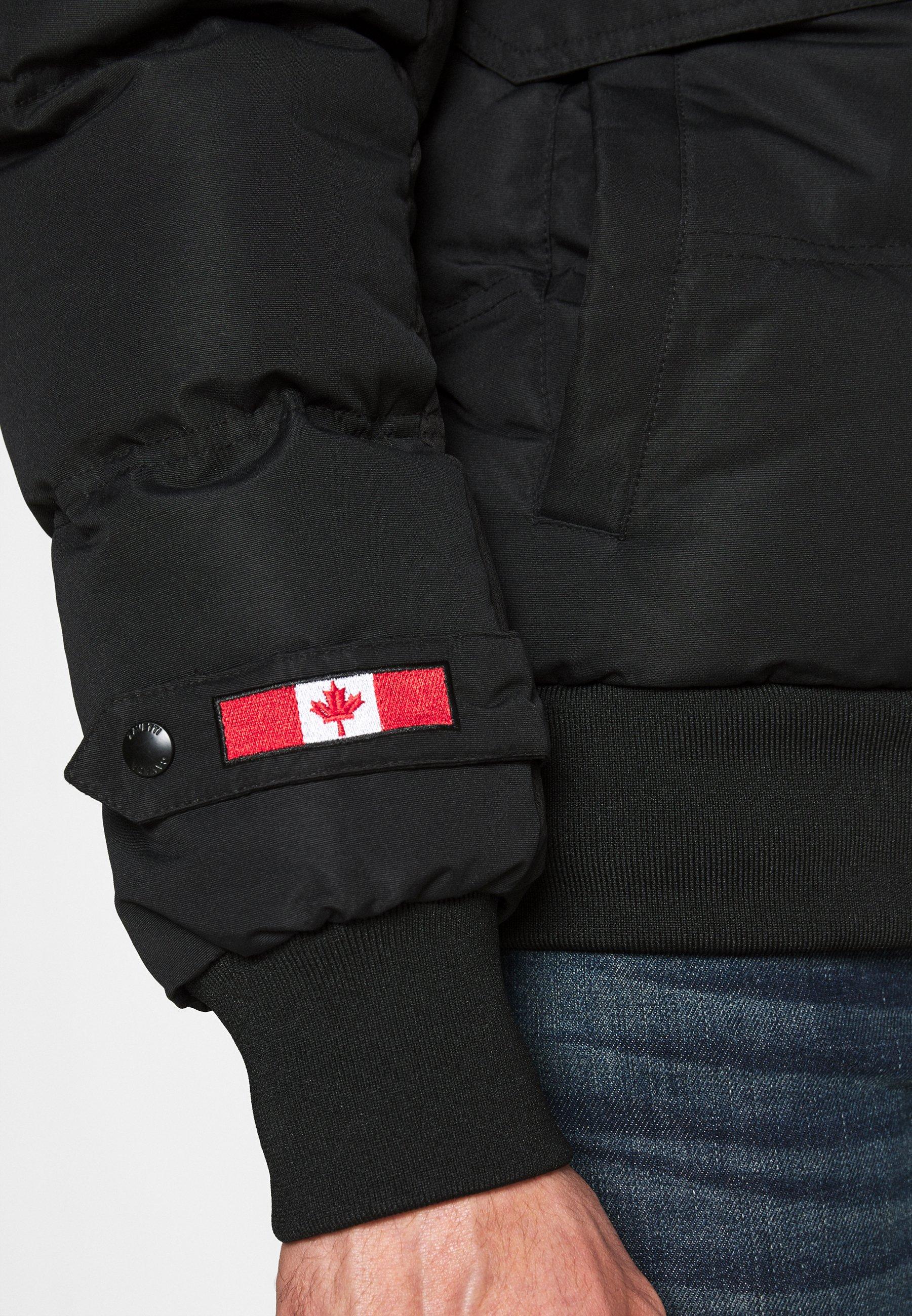 Alessandro Zavetti Zaveti Canada Turveno Bomber - Vinterjakke Black/svart