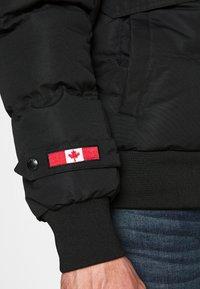 Alessandro Zavetti - ZAVETI CANADA TURVENO BOMBER - Winter jacket - black - 6
