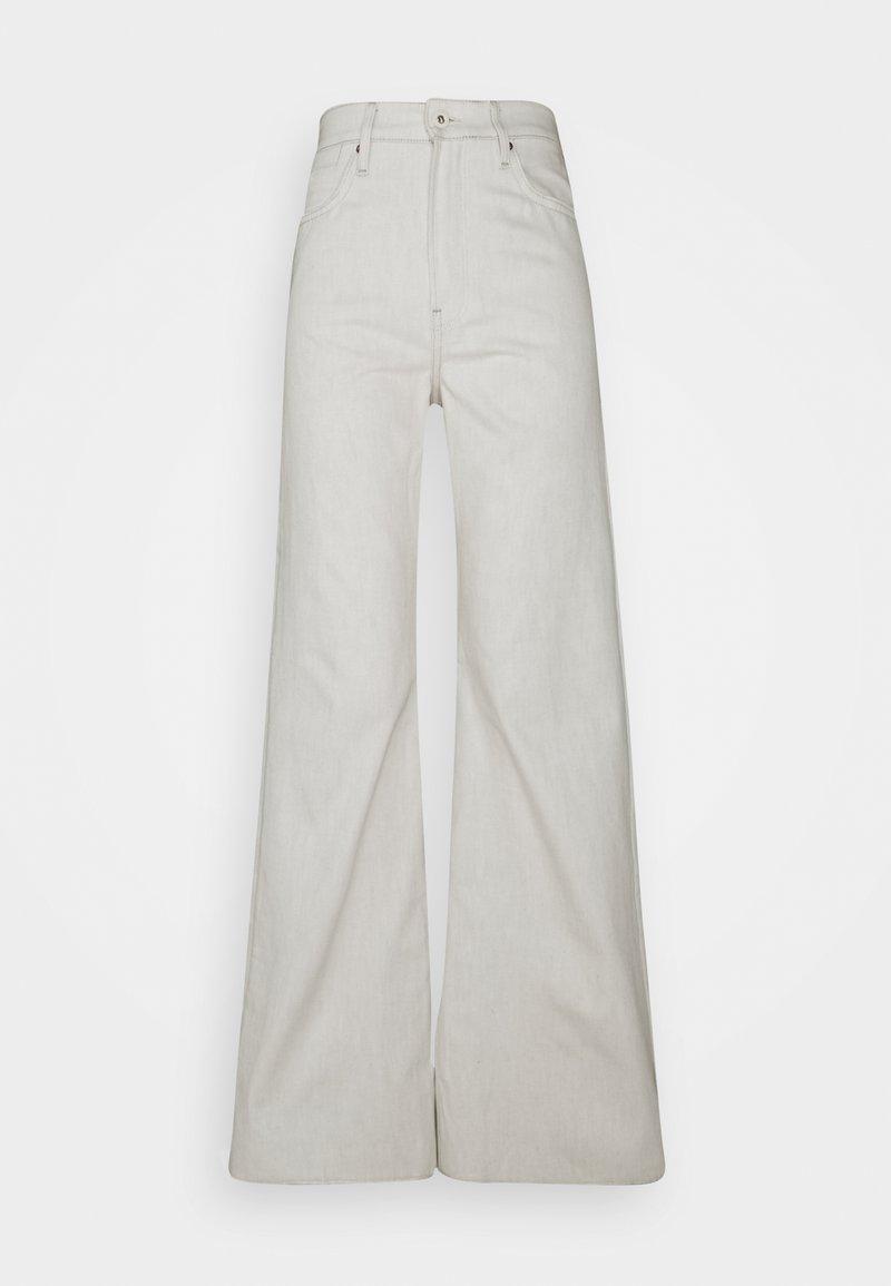 G-Star - DECK ULTRA HIGH WIDE LEG - Jeans a zampa - ecru