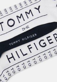Tommy Hilfiger - SOCK 2 PACK - Ponožky - white - 1