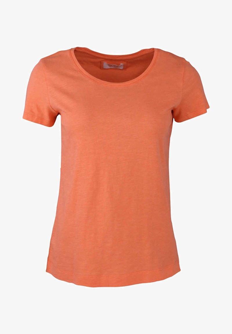 Mos Mosh - ARDEN - Basic T-shirt - orange/rot