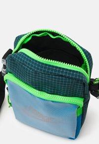 Nike Sportswear - HERITAGE UNISEX - Umhängetasche - laser blue/dark teal green/black - 2