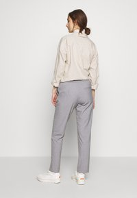 Carin Wester - TROUSERS FARIN - Trousers - grey melange - 3