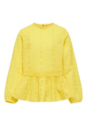 OBERTEIL STRUKTUR - Blouse - primrose yellow