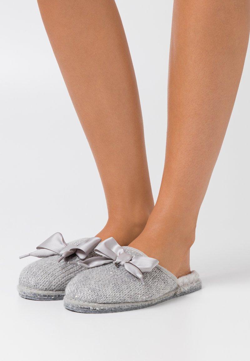 Tamaris - SABOT  - Slippers - light grey