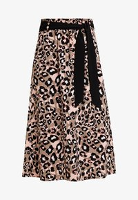 s.Oliver BLACK LABEL - KURZ - A-line skirt - brown - 3