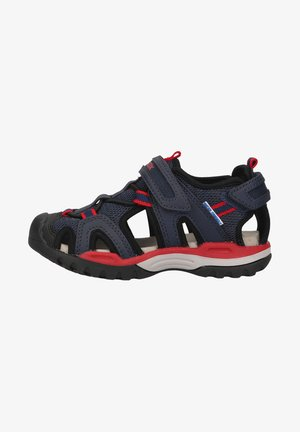 Sandals - navy/red