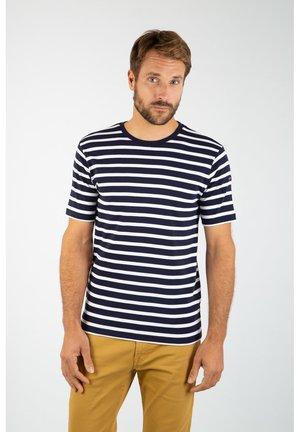 MORGAT MARINIÈRE - T-shirt imprimé - navire blanc