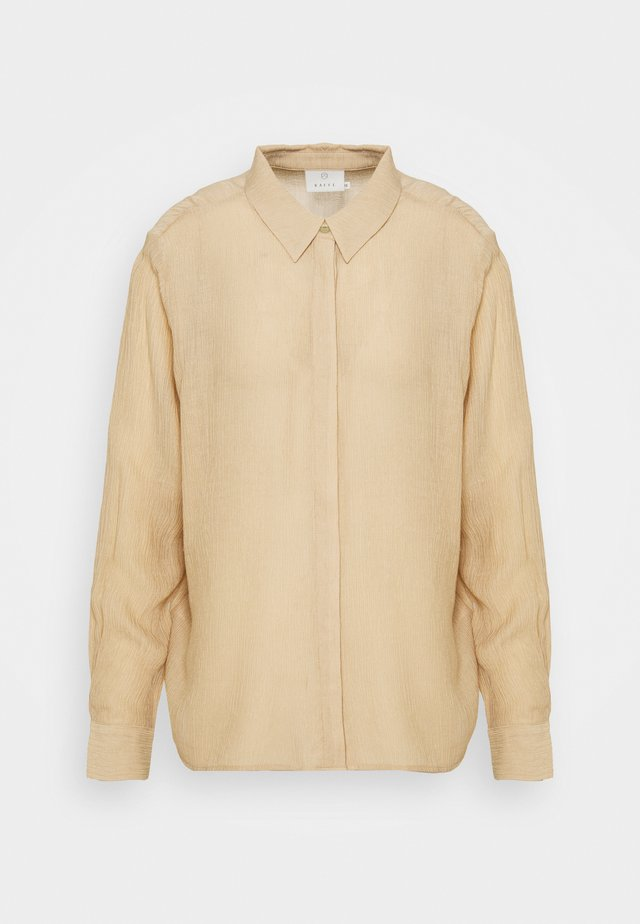 MORINA SHIRT - Overhemdblouse - beige