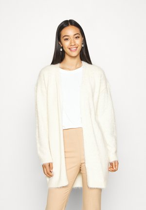 VMPOILU LONG OPEN CARDIGAN - Cardigan - birch