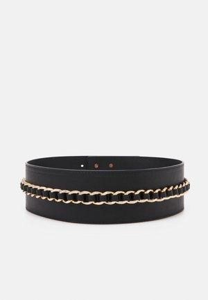 PCZENKO WAIST BELT KEY - Waist belt - black/gold-coloured