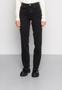 BDG Urban Outfitters - PAX - Džíny Straight Fit - black - 0