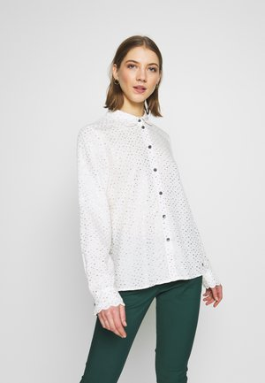 IRIDIANA - Button-down blouse - pristine