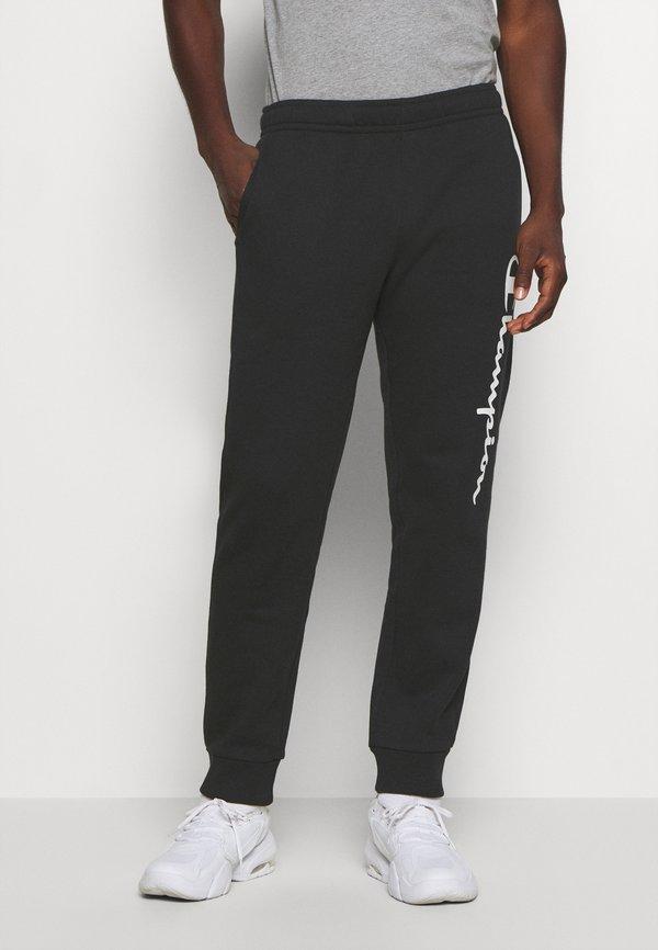 Champion LEGACY CUFF PANTS - Spodnie treningowe - black/czarny Odzież Męska JZCY
