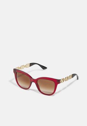 Sunglasses - bordeaux transparent