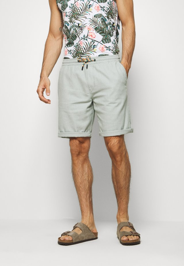 STRUCTURED - Shorts - mint