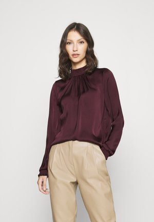 VISOFIE HIGH NECK SMOCK  - Blůza - winetasting