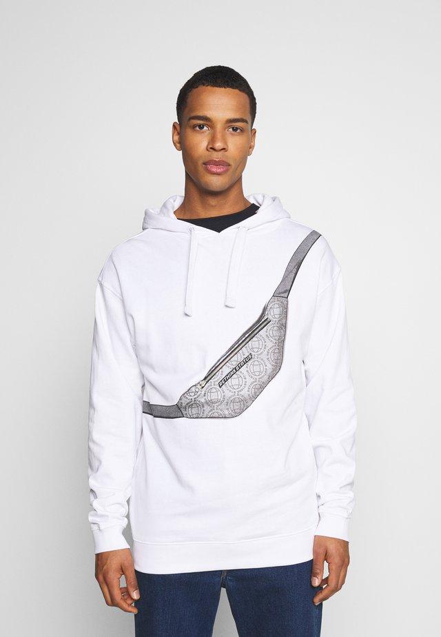 HOODY UNISEX - Sweatshirts - white