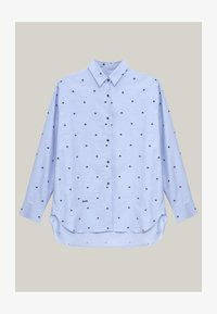 Brava Fabrics - YOKO PRINTED - Button-down blouse - blue - 4