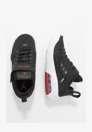 MAX 200  - Sports shoes - black/gym red/white