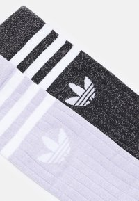 adidas Originals - FULL CREW UNISEX 2 PACK - Sokker - purple tint/black - 1
