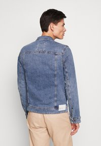 TOM TAILOR DENIM - STRETCH JACKET - Denim jacket - blue denim - 2