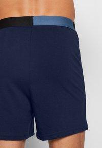 Jack & Jones - JACSOLID BOXERS 2 PACK - Shorty - navy blazer/navy blazer - 2