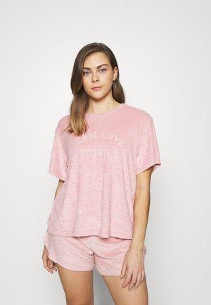 JOSIE - Haut de pyjama - sepia rose