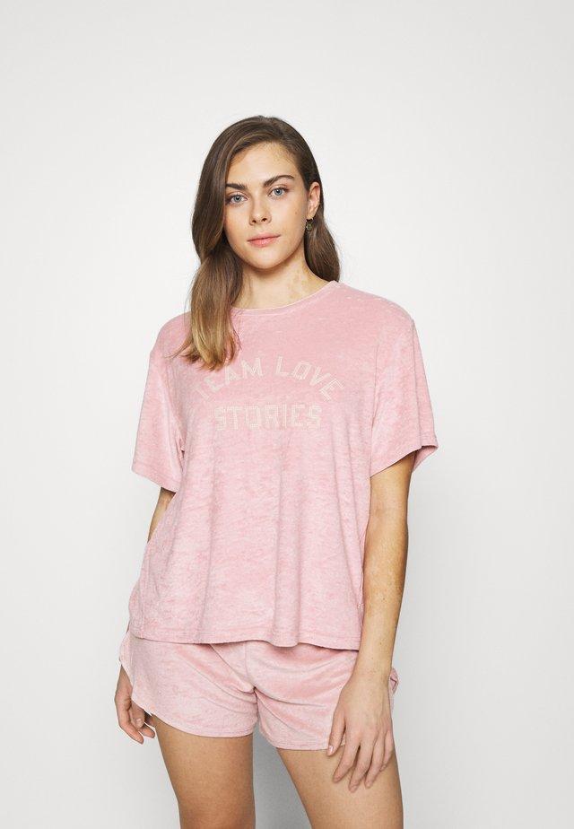 JOSIE - Pyjamasöverdel - sepia rose