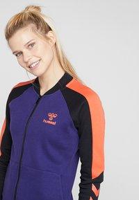 Hummel - HMLSPICY ZIP JACKET - Training jacket - astral aura - 3