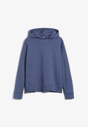 Hoodie - foggy blue