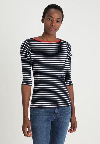 STRIPE - Long sleeved top - navy