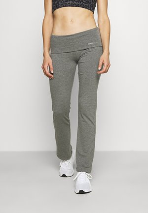 ONPFOLD JAZZ PANTS - Collants - medium grey melange