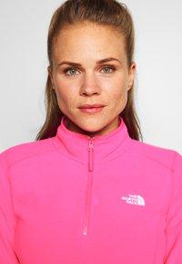 The North Face - GLACIER ZIP MONTEREY - Sweat polaire - mr pink - 3