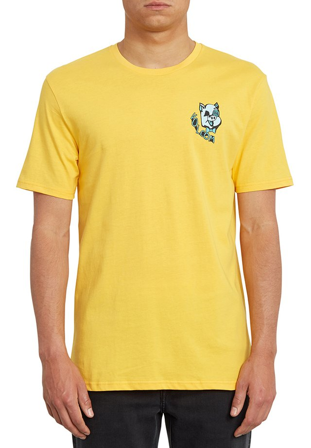 WIGGLY  - T-shirt con stampa - yellow