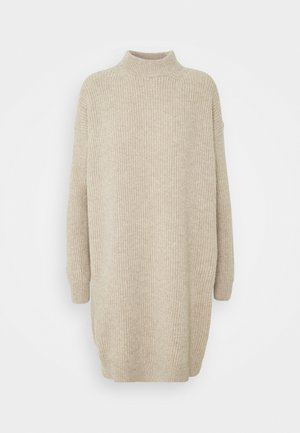 ANDRIA - Jumper dress - beige