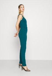 WAL G. - SERENITY PLUNGE - Jumpsuit - dark teal blue - 3