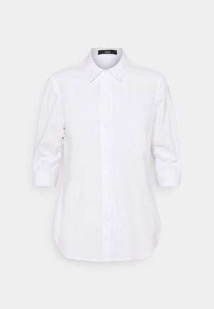 LIZA ESSENTIAL BLOUSE - Button-down blouse - white