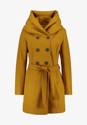 MIT KAPUZE - Short coat - buckthorn brown