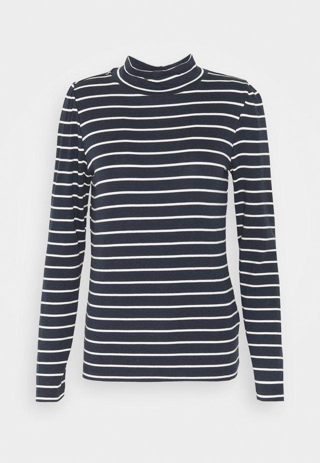 PUFF  - Langærmede T-shirts - navy/white