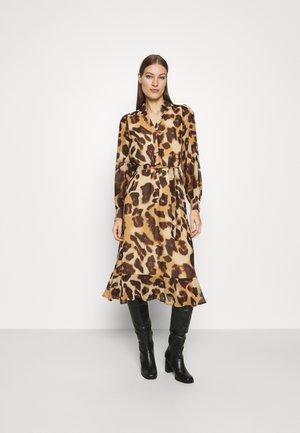 SLFGANZA  - Day dress - black/leo